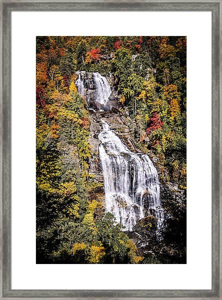 Whitewater Falls Framed Print