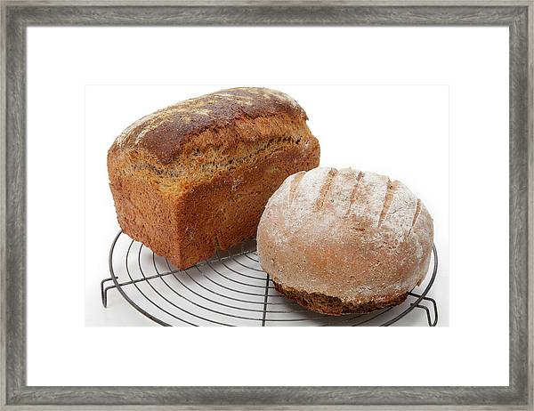 Wholemeal And Rye Framed Print