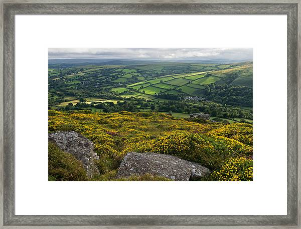 Widdecombe In The Moor Framed Print