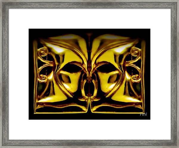 wide Scream Framed Print