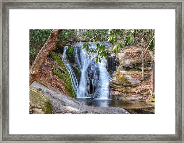 Widows Creek Falls Framed Print