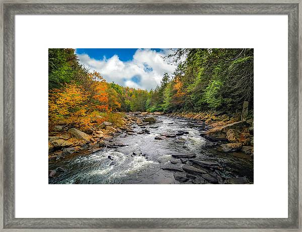 Wild Appalachian River Framed Print