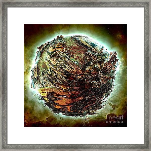 Wild Planet Framed Print by Bernard MICHEL