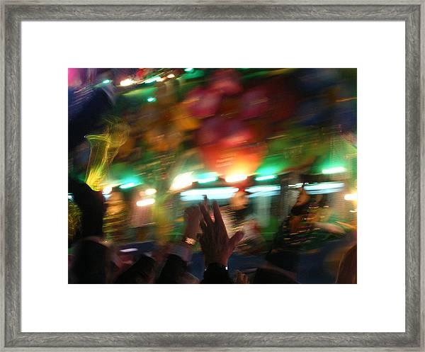 Wild Ride Framed Print