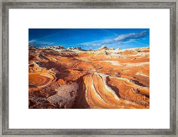 Wild Sandstone Landscape Framed Print