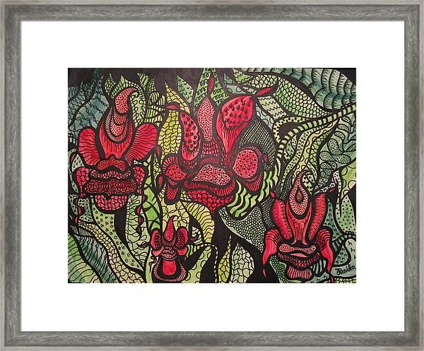 Wild Things  Framed Print