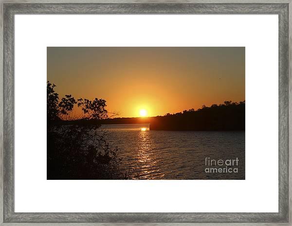 Wildcat Cove Sunset Framed Print
