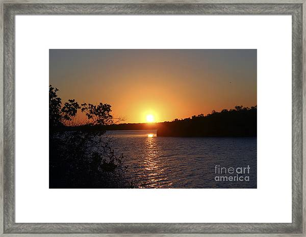 Wildcat Cove Sunset2 Framed Print