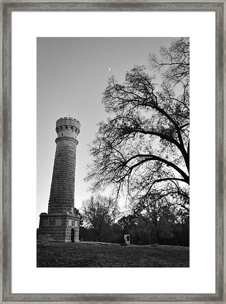 Wilder Tower 6 Framed Print