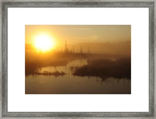 Wilderness Sunrise Framed Print