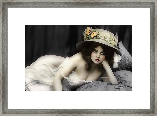 Will You Love Me In The Morning Framed Print
