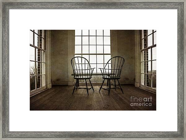 Will You Sit With Me? Framed Print