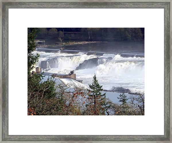Willamette Falls Framed Print