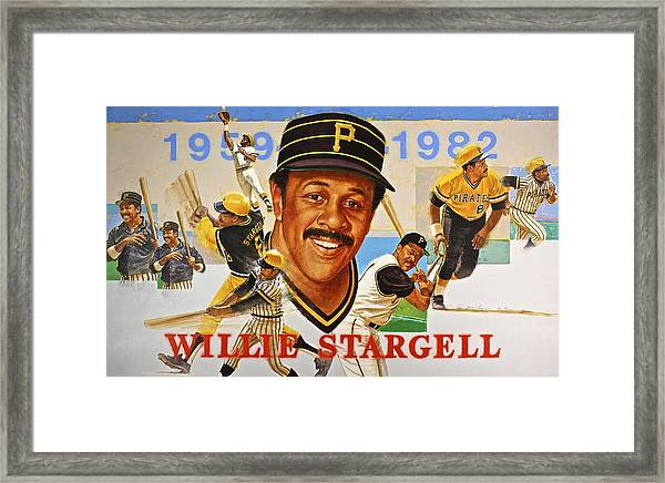 Willie Stargell Framed Print
