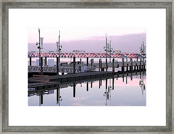 Wilson Bridge Framed Print