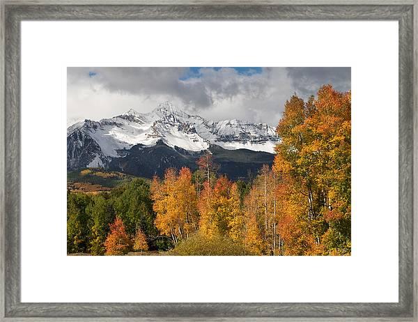 Wilson Peak Framed Print