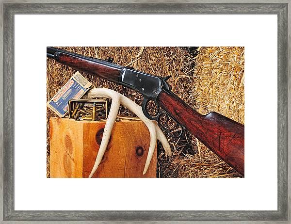 Winchester Model 92 Framed Print