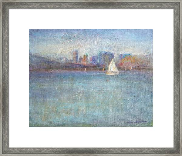Wind In My Sails Framed Print