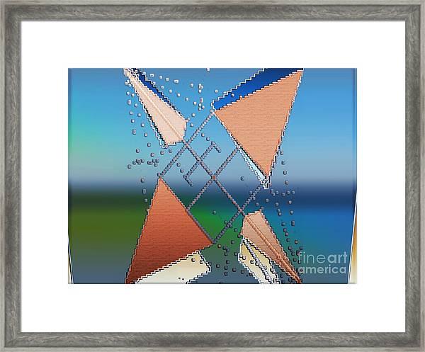 Wind Milling Framed Print
