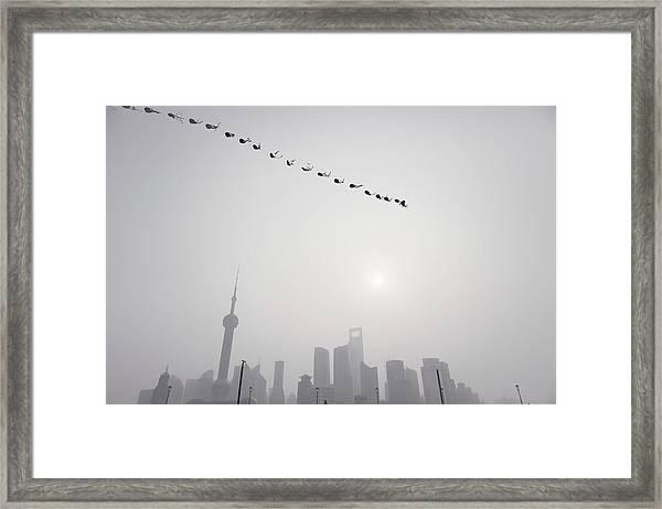 Wind Of Shanghai Framed Print