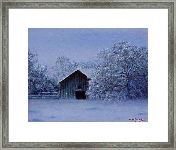 Windberg Barn Framed Print