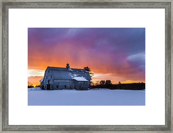 Windham Barn  Framed Print