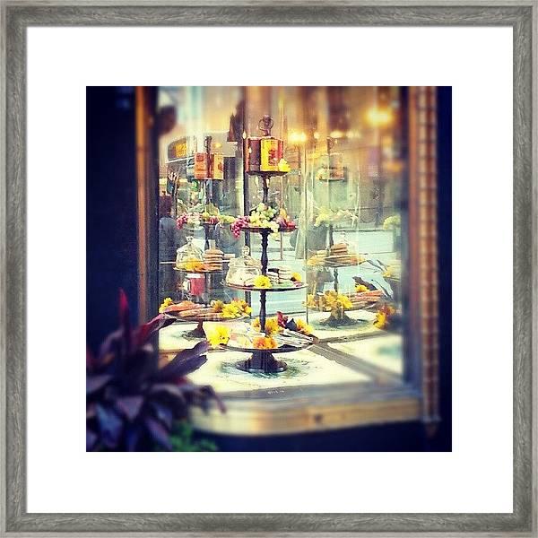 Window Display Framed Print