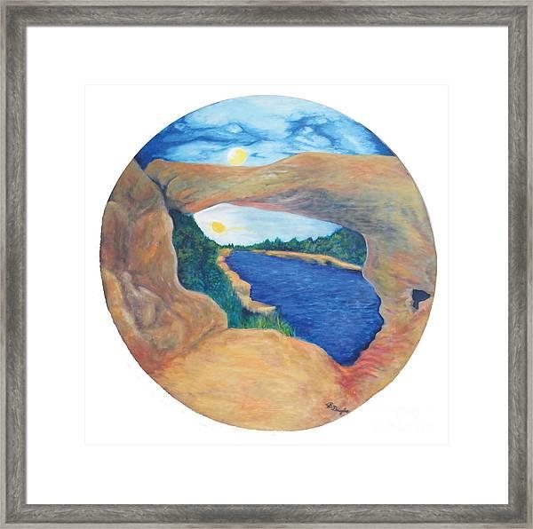 Window Of Heaven Framed Print