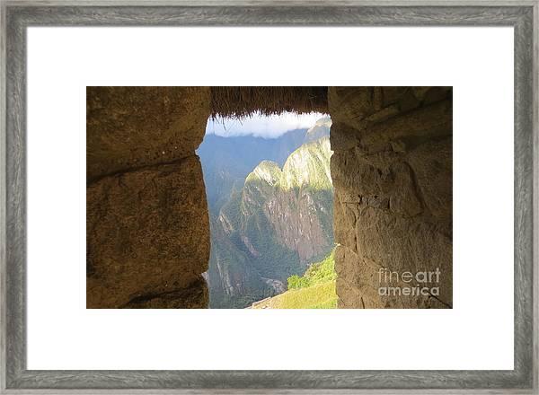 Window Of Possibilities Framed Print