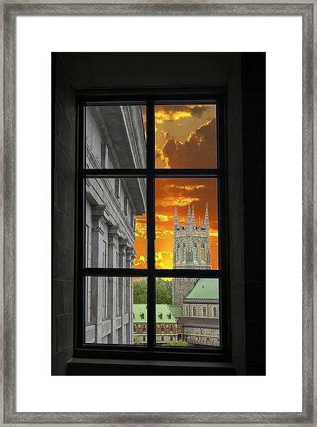 Window Series 03 Framed Print