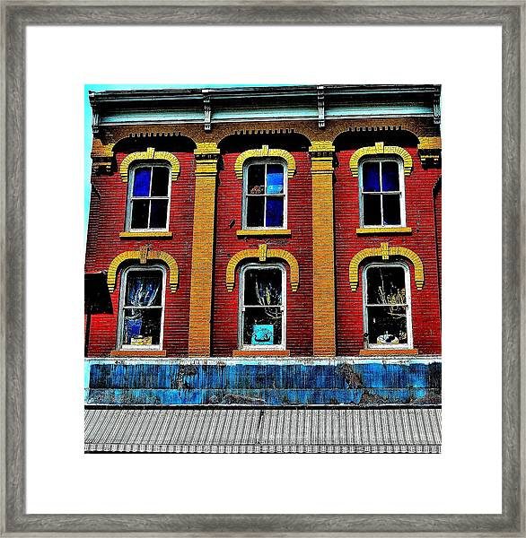 Window Stages - Canada Framed Print