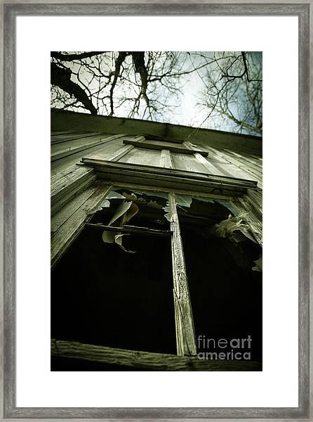 Window Tales Framed Print
