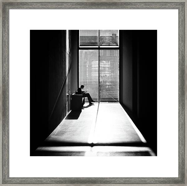 Windowlight Framed Print by Michael M.