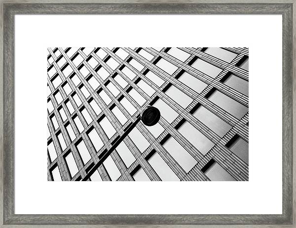 Windows And Lamp Framed Print by Inge Schuster