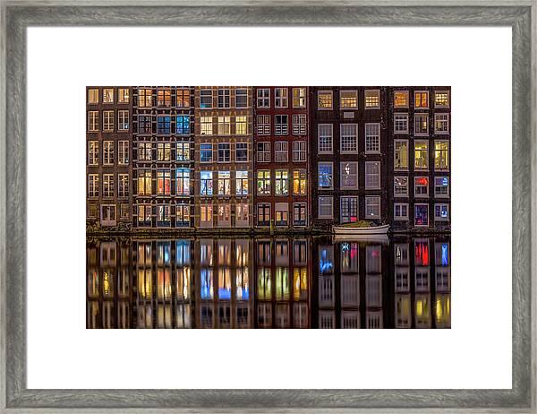 Windows Browser Framed Print by Peter Bijsterveld