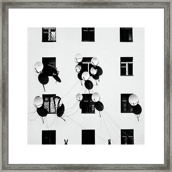 Windows Framed Print by Marina Yushina