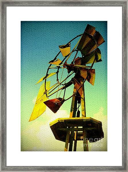 Winds Of Change Framed Print