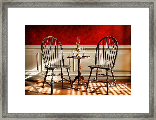Windsor Chairs Framed Print