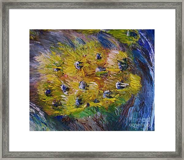Windy Framed Print