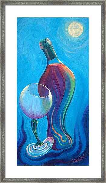 A Wine Affair Framed Print