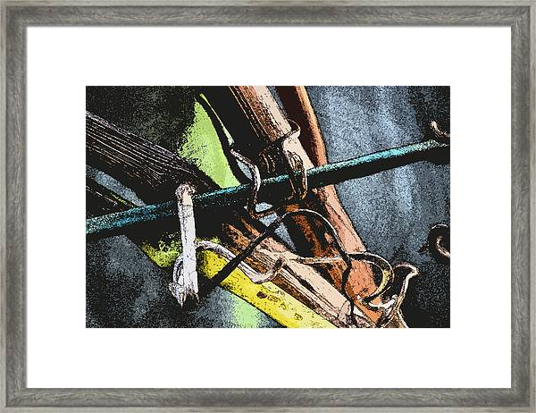 Wine Branches Framed Print