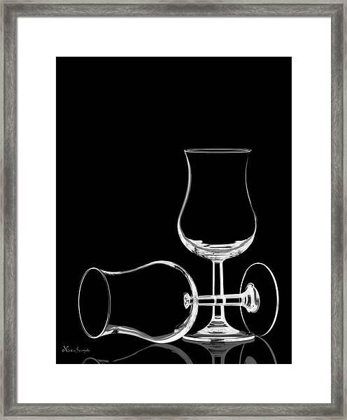 Wine Glasses  Framed Print