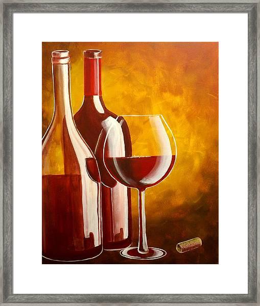 Wine Not Framed Print