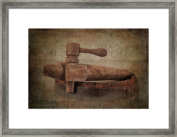 Wine Tap Framed Print