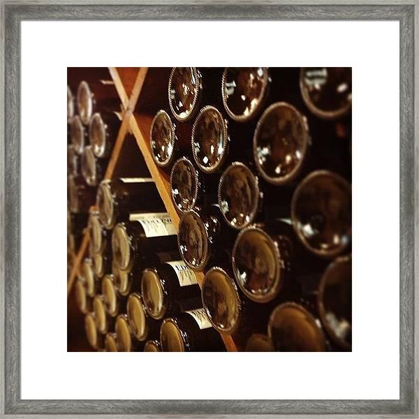 Wine Tour Framed Print