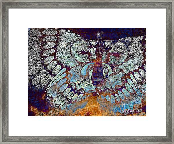 Wings Of Destiny Framed Print