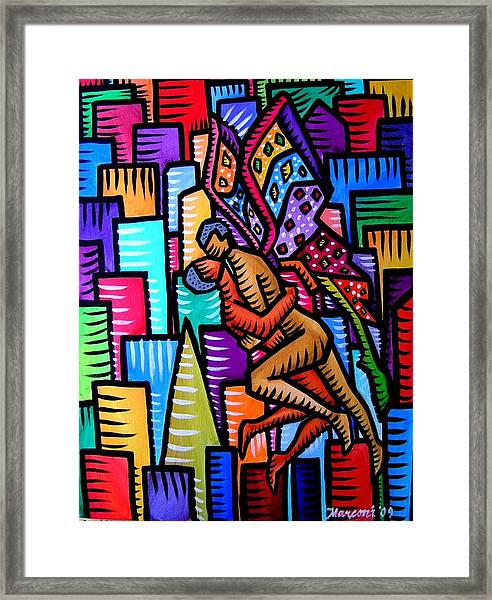 Wings Of Love Framed Print