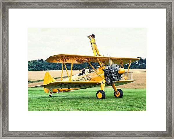 Wingwalking Framed Print