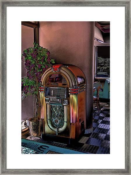 Winsteads Jukebox Framed Print