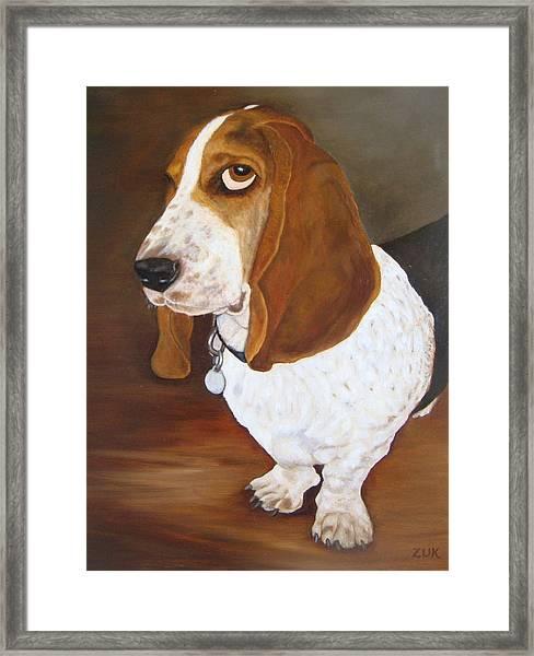 Winston Framed Print
